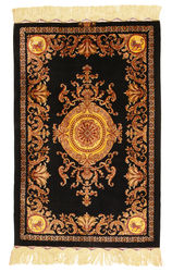 Qum silk signed: Vafai carpet VEXW4