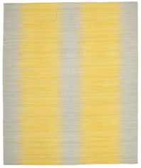 Kilim Ikat - Yellow carpet CVD8348