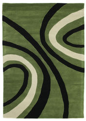Karin Handtufted - Green carpet CVD6686
