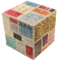 Patchwork stool ottoman teppe BHKW128