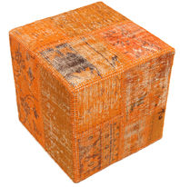 Patchwork stool ottoman teppe BHKW171