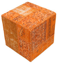 Patchwork stool ottoman teppe BHKW176
