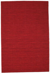 Kilim loom - Dark Red carpet CVD8707