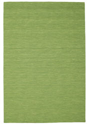 Kilim loom - Green carpet CVD8962