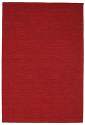 Kilim loom - Dark Red carpet CVD8712