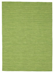 Kilim loom - Green carpet CVD8969