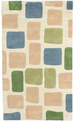 Piedras Handtufted - Green carpet CVD6131