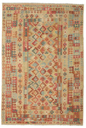 Kilim Afghan Old style carpet ABCK1335
