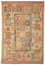 Kilim Afghan Old style carpet ABCK1353