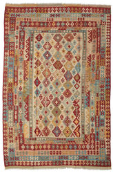 Kilim Afghan Old style carpet ABCK1384