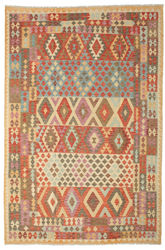 Kilim Afghan Old style carpet ABCK1207