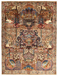 Kashmar pictorial carpet AZXA367