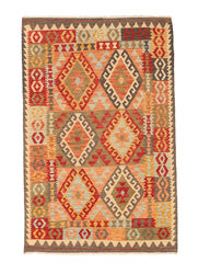 Alfombra Kilim Afghan Old style NAO188