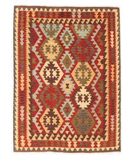 Kelim Afghan Old style Teppich NAO207