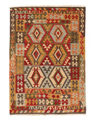 Alfombra Kilim Afghan Old style NAO158
