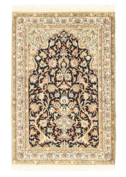 Kashmir pure silk carpet XVZA219