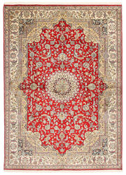 Kashmir pure silk carpet XVZA27