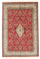 Kashmir pure silk carpet XVZA262