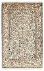 Kashmir pure silk carpet XVZA49