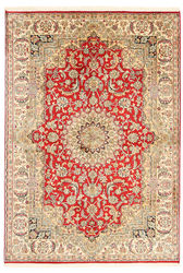 Kashmir pure silk carpet XVZA50