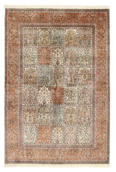 Kashmir pure silk carpet XVZB5