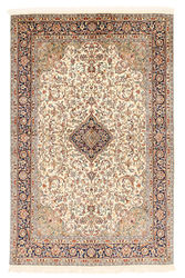 Kashmir pure silk carpet XVZA17