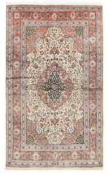 Kashmir pure silk carpet XVZB7