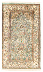 Kashmir pure silk carpet XVZA62