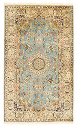 Kashmir pure silk carpet XVZA72