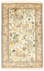 Kashmir pure silk pictorial carpet XVZA261