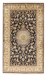 Kashmir pure silk carpet XVZA61
