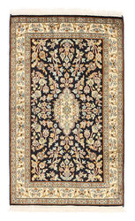Kashmir pure silk carpet XVZA204