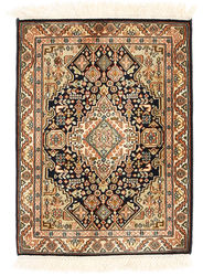 Kashmir pure silk carpet XVZA270