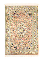 Kashmir pure silk carpet XVZA250