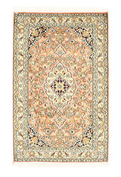 Kashmir pure silk carpet XVZA194