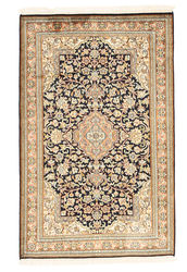 Kashmir pure silk carpet XVZA175