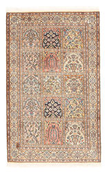 Kashmir pure silk carpet XVZA83