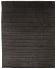 Handloom fringes - Black/Grey carpet CVD13318