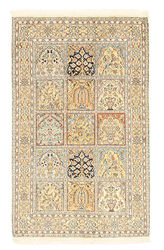 Kashmir pure silk carpet XVZA80