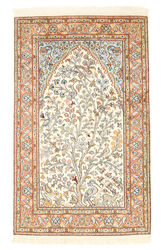 Kashmir pure silk carpet XVZA192