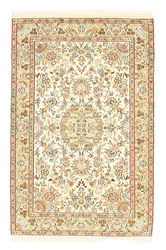 Kashmir pure silk carpet XVZA178