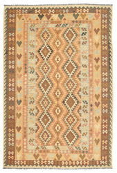 Kilim Afghan Old style carpet ABCL902