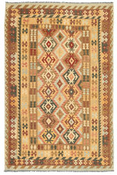 Kilim Afghan Old style carpet ABCL903