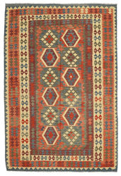 Kilim Afghan Old style carpet ABCL943
