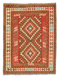 Alfombra Kilim Afghan Old style ABCL1039