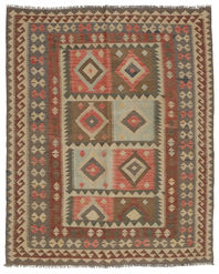 Kilim Afghan Old style carpet ABCL1035