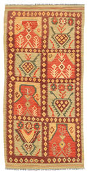 Tapis Kilim Afghan Old style ABCL724