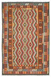 Kilim Afghan Old style carpet ABCL1005