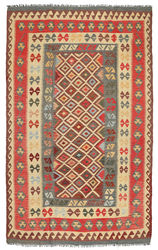 Tapis Kilim Afghan Old style ABCL1003