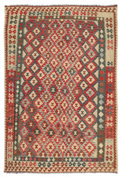 Alfombra Kilim Afghan Old style ABCL986